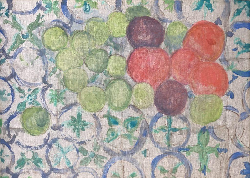 Prunes sur azulejos